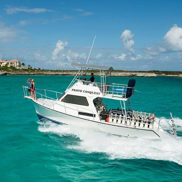 Dive Provo dive boat