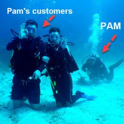 Pam,  Reservation Specialist